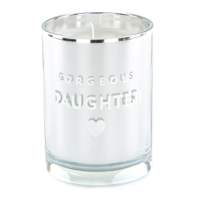 Gorgeous Daughter Vanilla Scented Candle