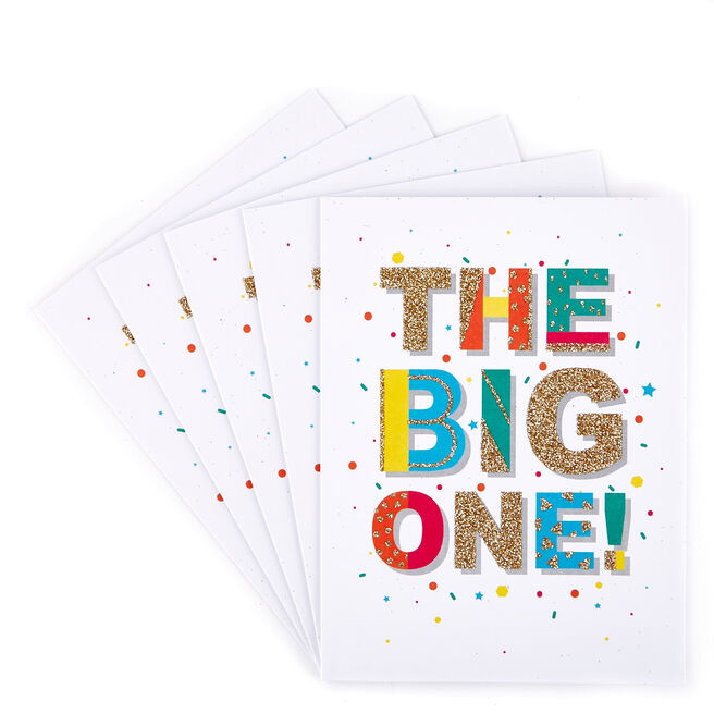 Party Invitations, The Big One - Pack of 12