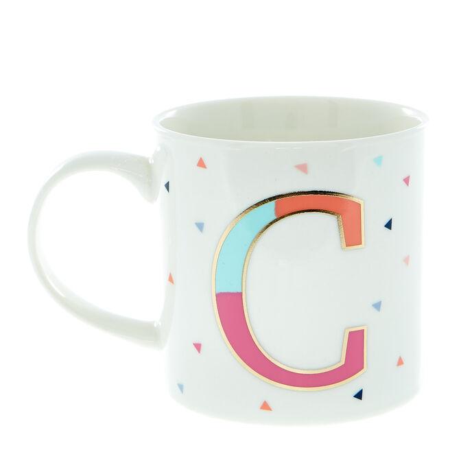 Letter C Alphabet Mug