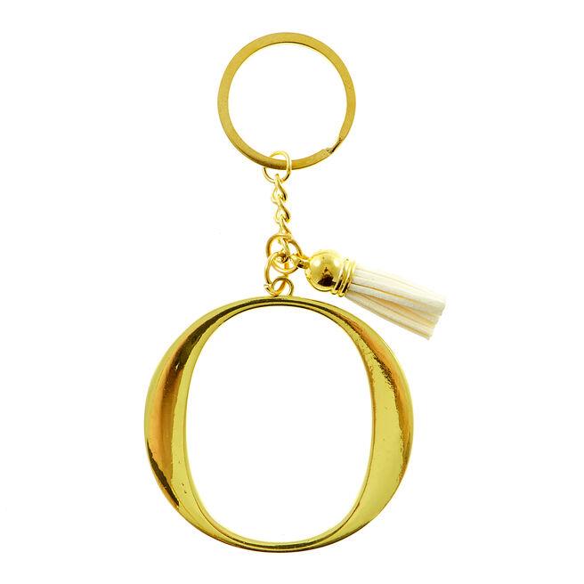 Letter O Key Ring