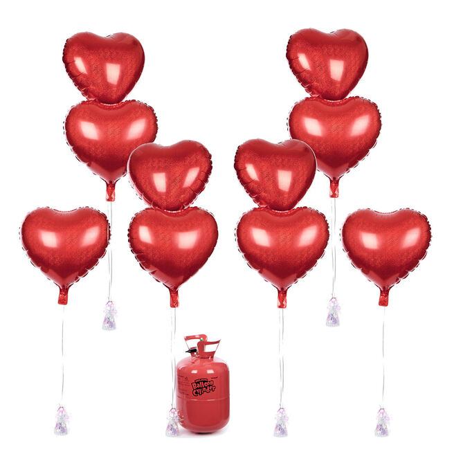 Red Heart Balloon & Accessory Range