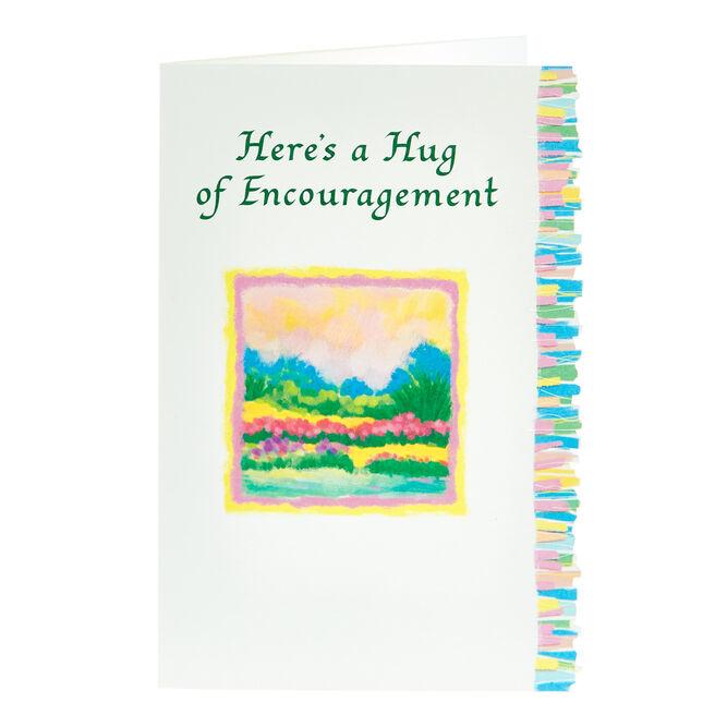 Blue Mountain Arts Card - A Hug Of Encouragement