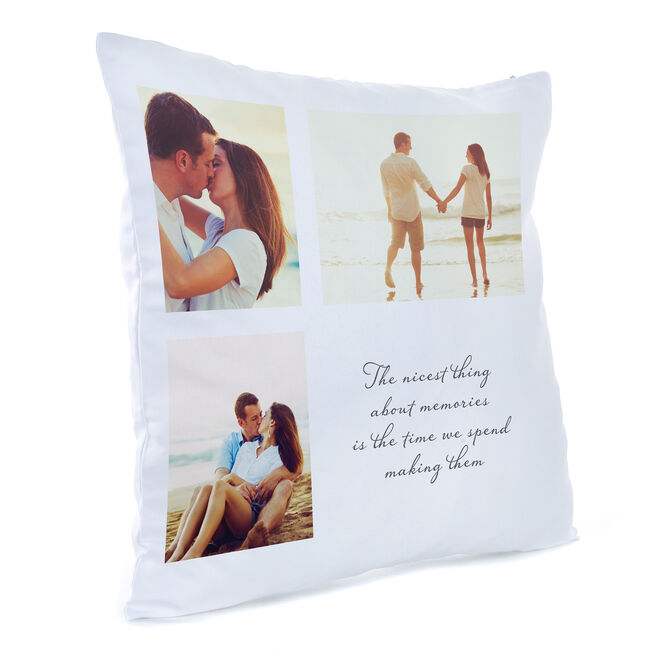 Personalised Photo Cushion - Memories