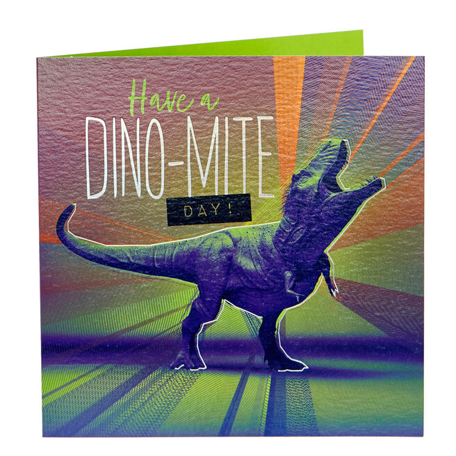 Birthday Card - Dino-mite Day
