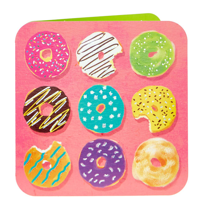 Any Occasion Card - Colourful Doughnuts
