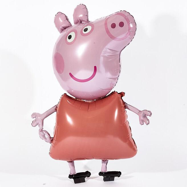 Peppa Pig Helium Airwalker Balloon (Deflated)