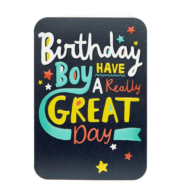 Birthday Card - Birthday Boy