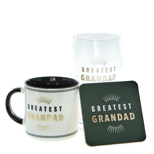 Grandad Simply The Best Drinks Gift Set