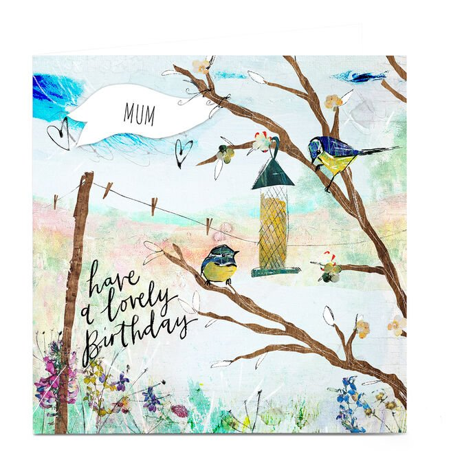 Personalised Emma Valenghi Birthday Card - Lovely