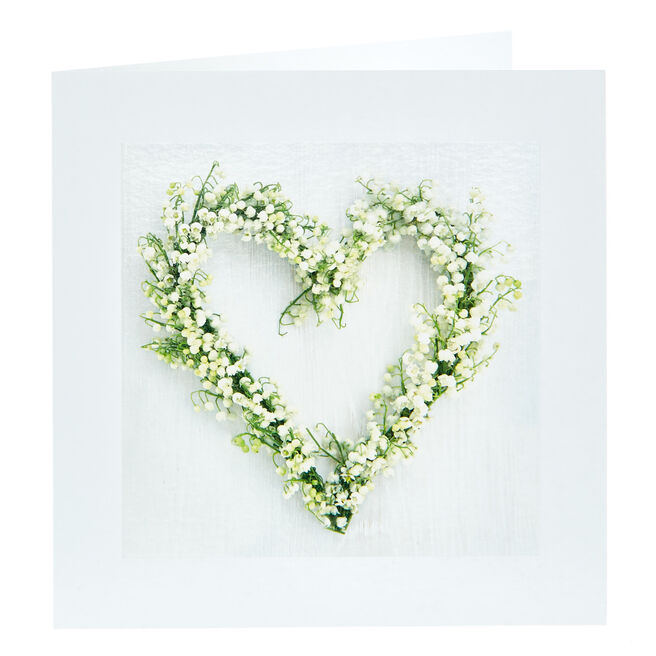 Any Occasion Card - Heart Wreath
