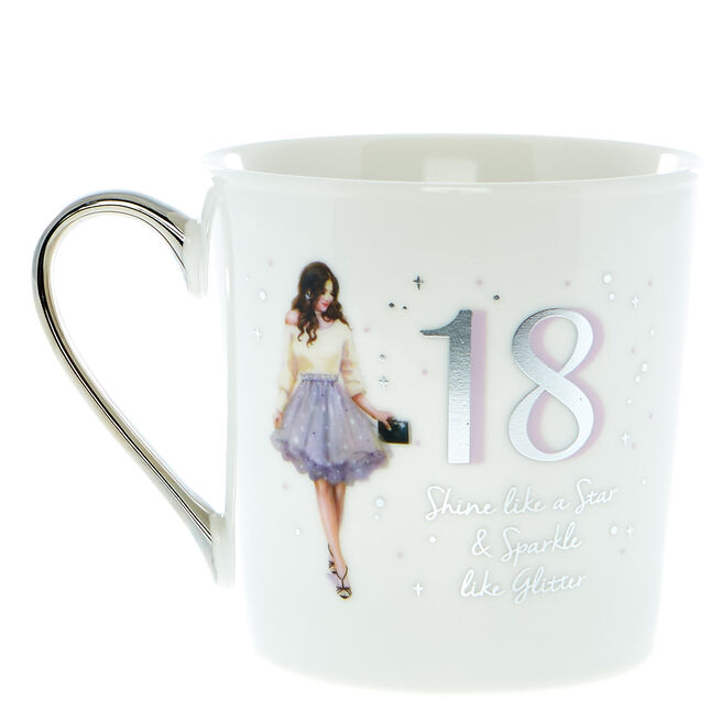18th Birthday Mug In A Box - Shine Like A Star