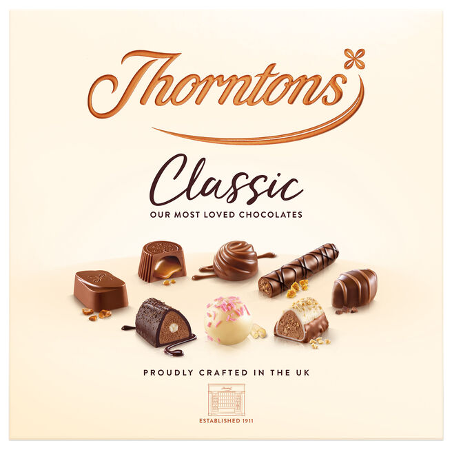 Thorntons Classic Assorted Collection Box 262g