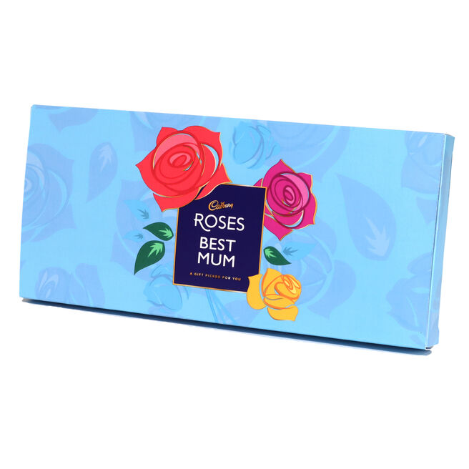 Personalised Cadbury Roses Small Letterbox Selection - 290g
