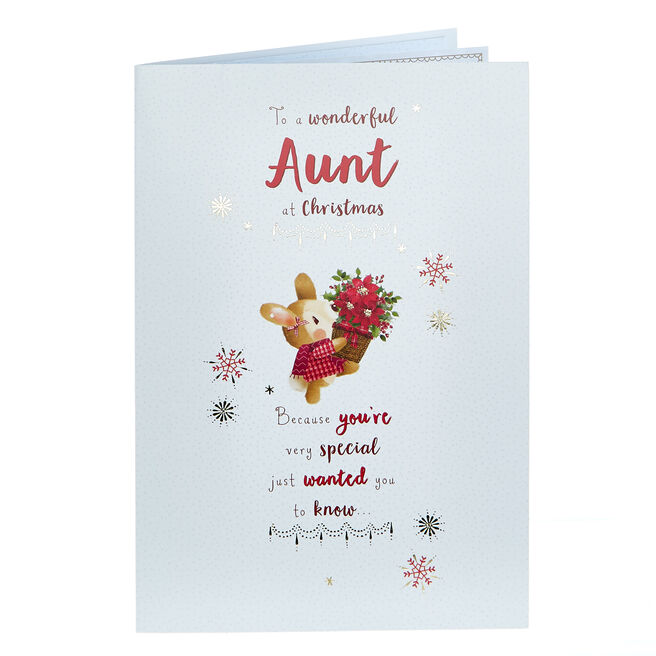 Christmas Card - To A Wonderful Aunt