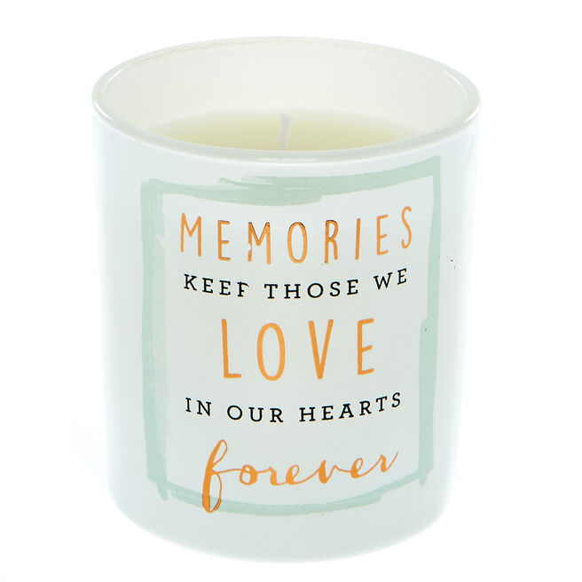 In Our Hearts Forever Vanilla Scented Candle