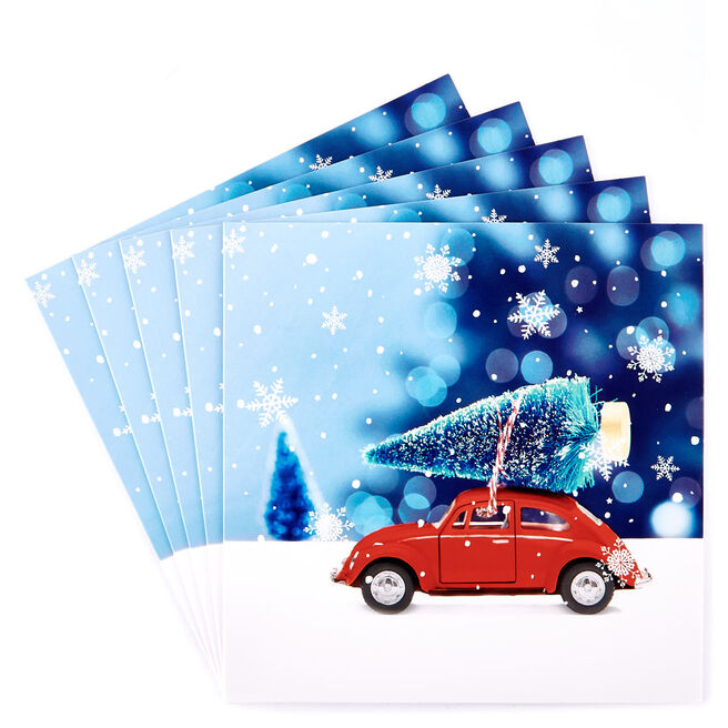 Charity Christmas Cards - Toy Car Pack Of 10