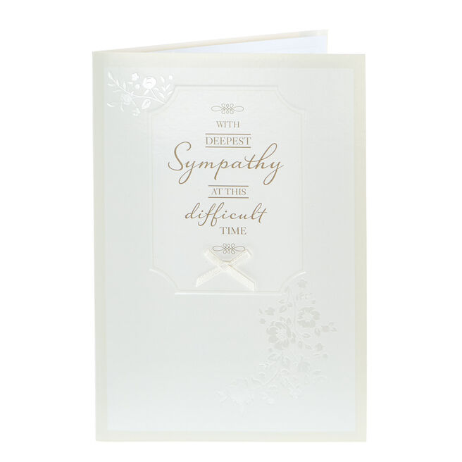 Sympathy Card - At This Difficult Time