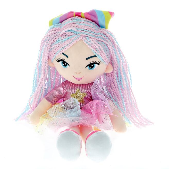 Hey Girl! Sky Rainbow Girl Soft Toy Doll