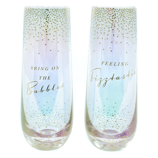 Friendship Champagne Flutes - Set Of 2