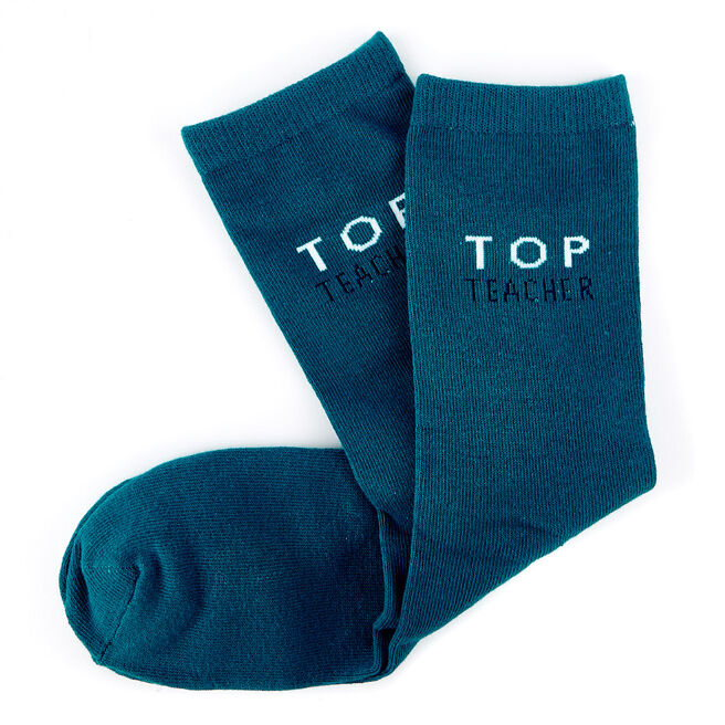 Top Teacher Socks - 1 Pair