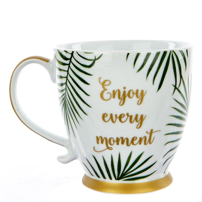 Large 'Enjoy Every Moment' Mug