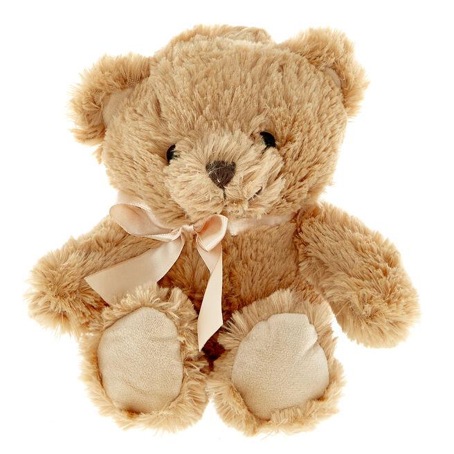 Teddy Bear With Bow Soft Toy