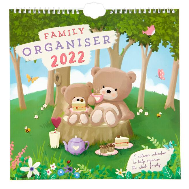 Hugs Bear 2022 Family Organiser