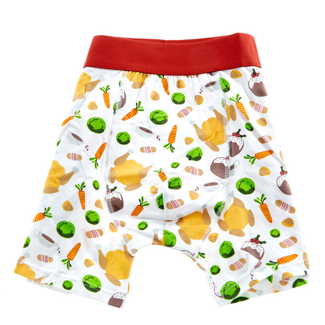 Novelty Christmas Dinner Boxer Shorts
