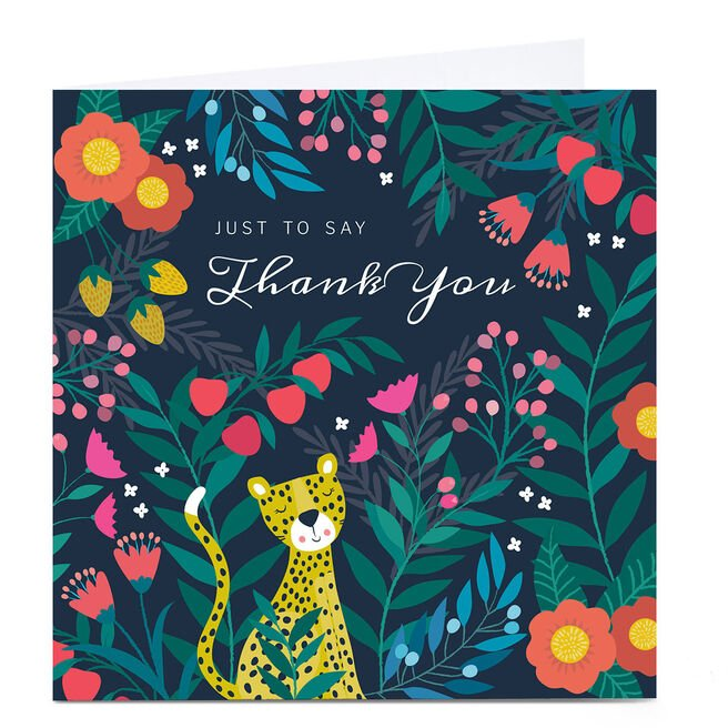 Personalised Klara Hawkins Thank You Card - Just To Say