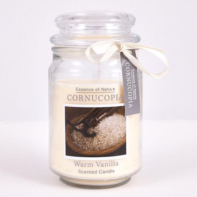 Cornucopia Scented Candle - Warm Vanilla