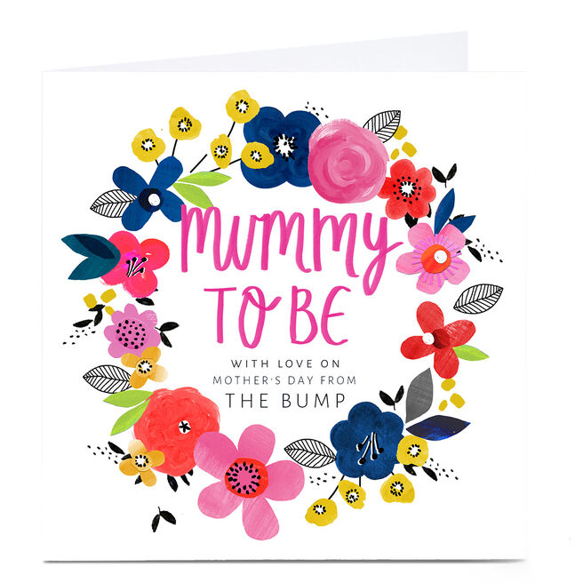 Personalised Kerry Spurling Mother's Day Card - Mummy To Be
