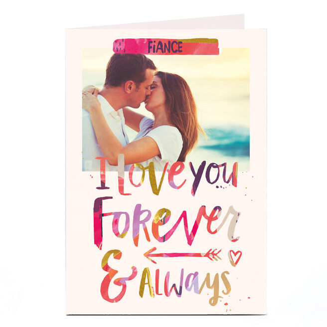 Photo Card - Any Recipient, Forever & Always