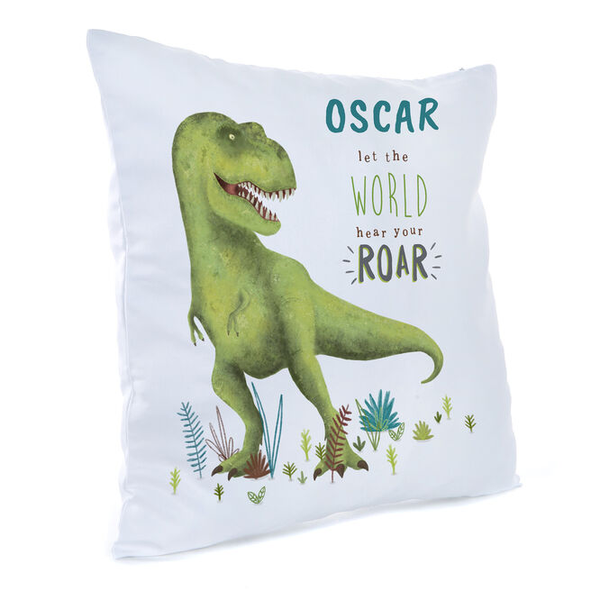 Personalised Children's Cushion - Let The World Hear Your Roar