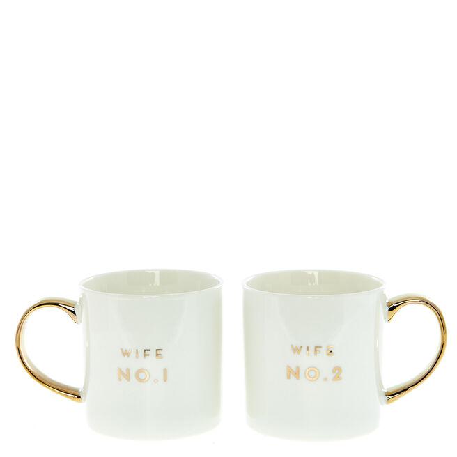 Two Hearts Wife No1 No2 Set