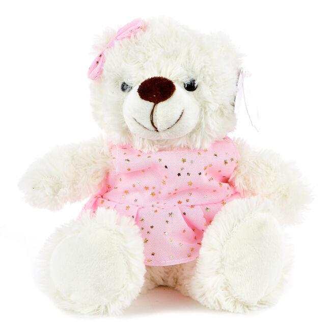 Teddy Bear In A Dress Soft Toy