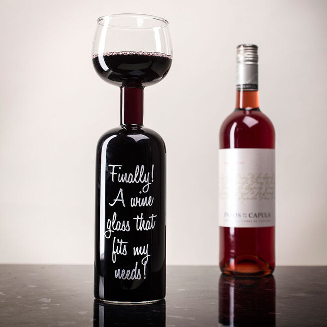 Finally, A Wine Glass That Fits My Needs - Wine Bottle Glass