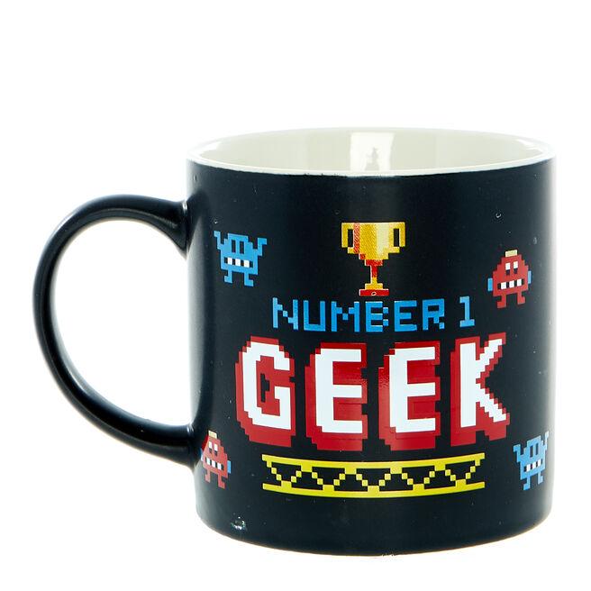 Number 1 Geek Mug