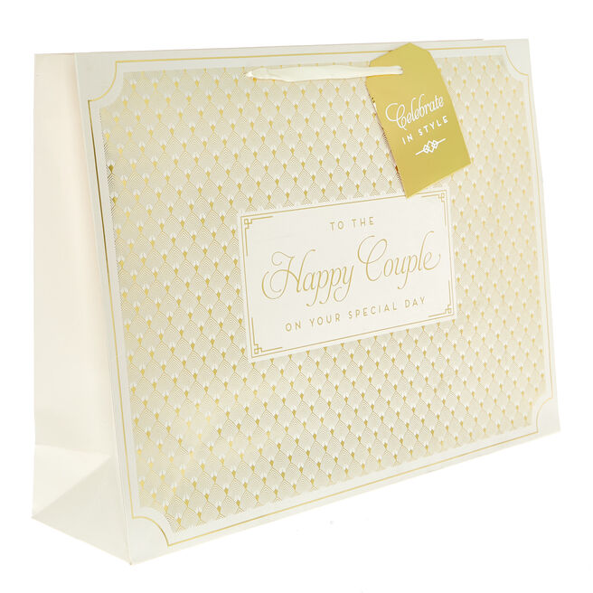 Large Landscape Gift Bag - To The Happy Couple