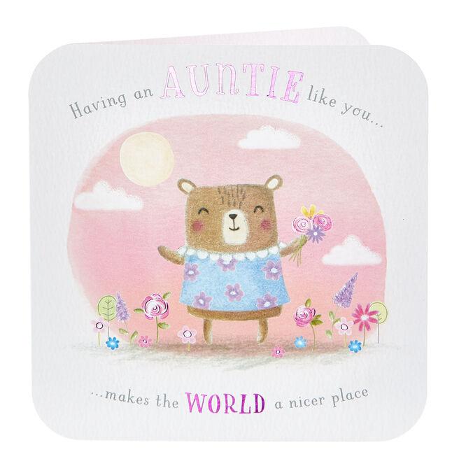 Birthday Card - An Auntie Like You