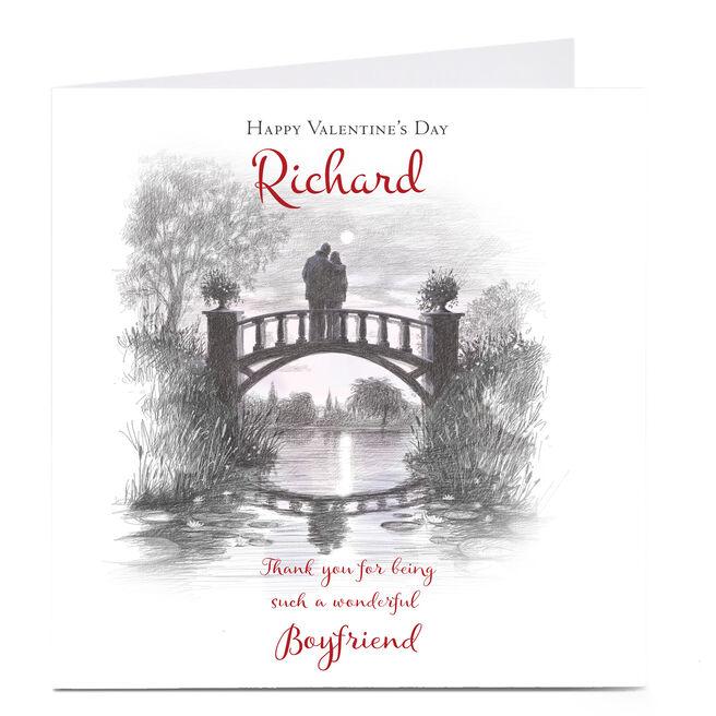 Personalised Valentine's Card - Such A Wonderful Boyfriend