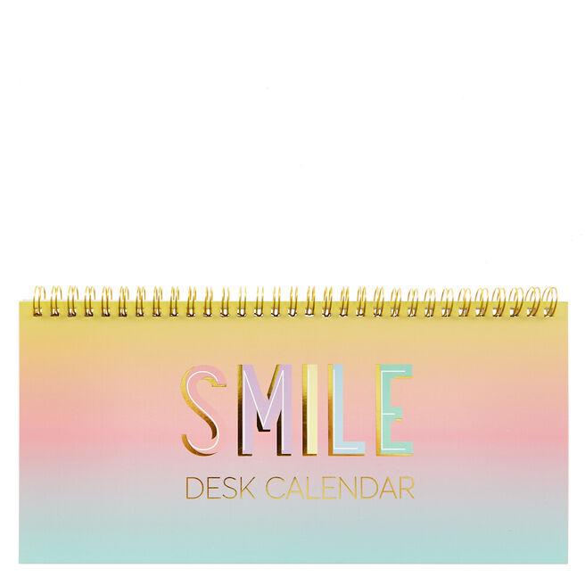 Smile Positivity Weekly Desk Planner