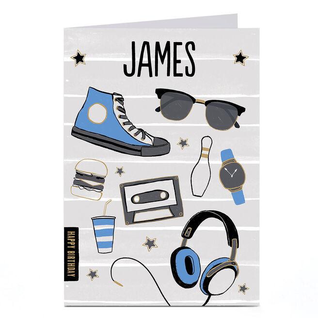 Personalised Birthday Card - Cool Stuff