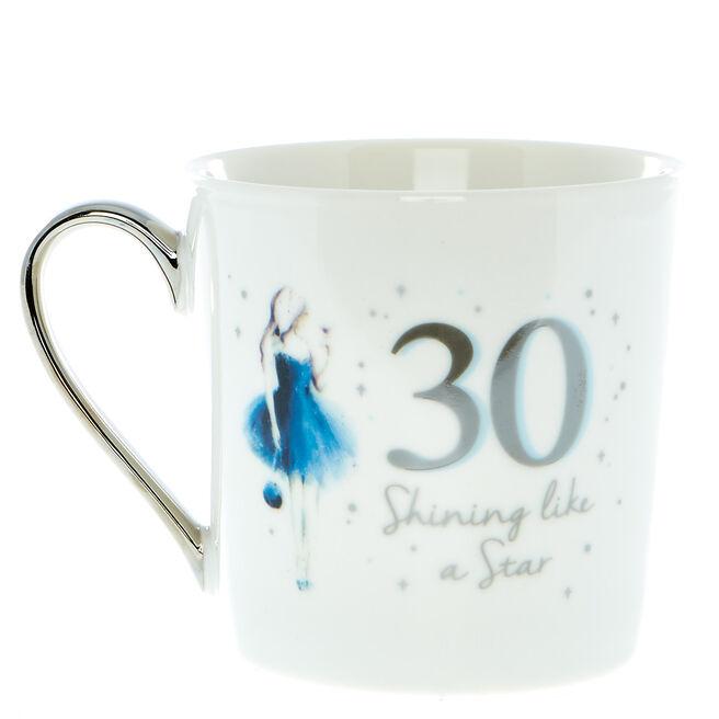 30th Birthday Mug In A Box - Shining Like A Star