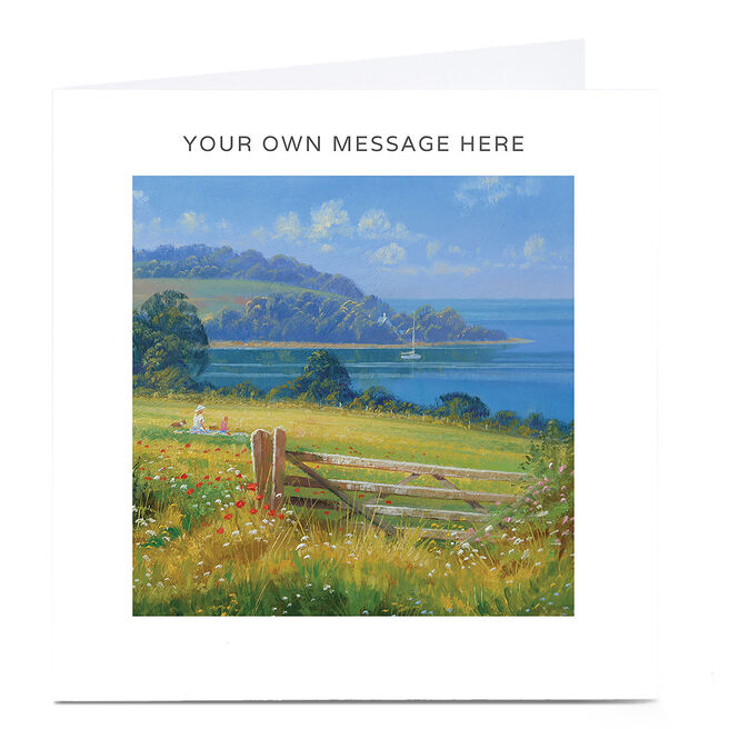 Personalised Card - View By The Sea