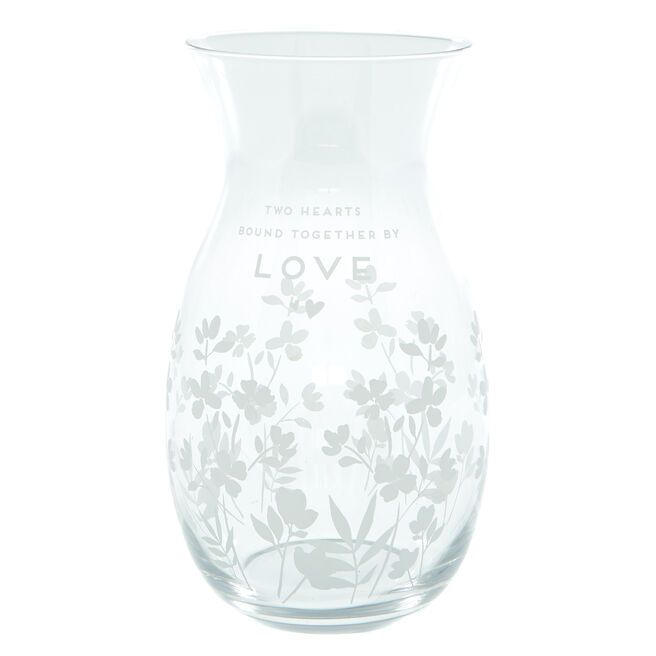 Two Hearts Vase