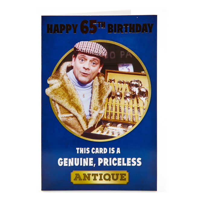 Only Fools & Horses 65th Birthday Card