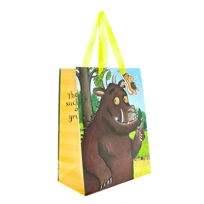 Medium Portrait Gift Bag - The Gruffalo