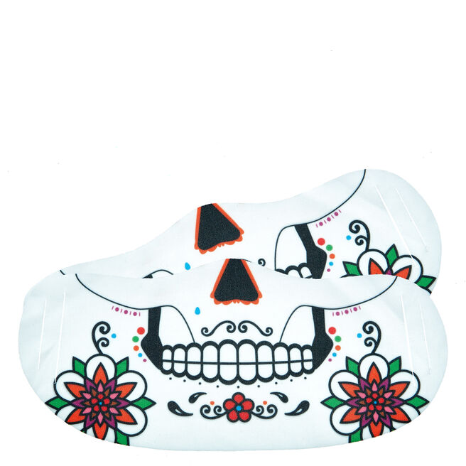 Day Of The Dead Skull Face Coverings - Pack Of 2