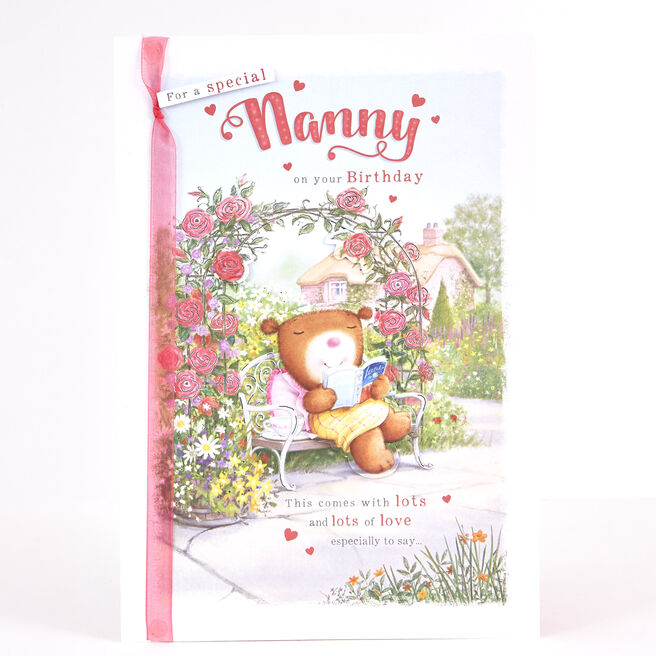 Birthday Card - Special Nanny