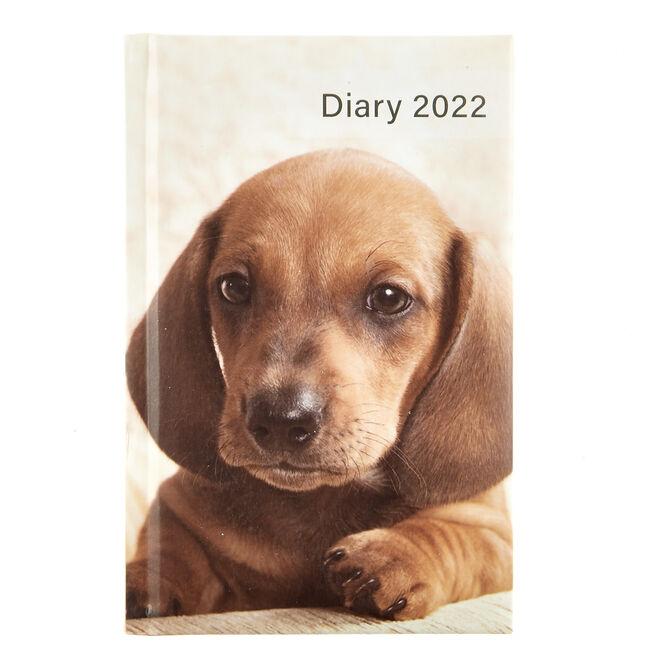 A6 2022 Pocket Diary - Dog